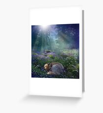 Bluebell Dawn Greeting Card