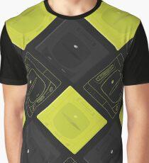 Sega Saturn mix (black) Graphic T-Shirt
