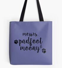 messrs. padfoot & moony Tote Bag