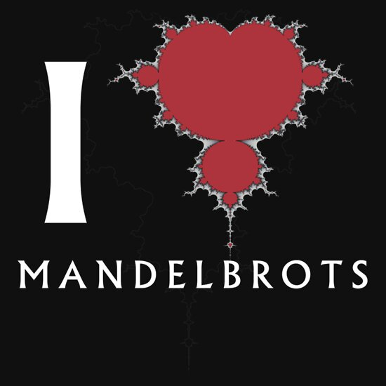 TShirtGifter presents: I Heart Mandelbrots