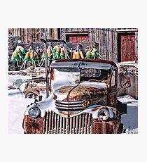 Vintage Chevrolet Photographic Print