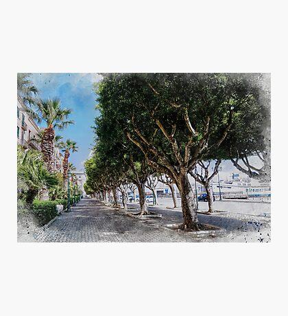 Trapani art 10 Photographic Print