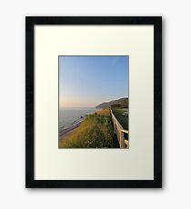 Cabot Trail Framed Print