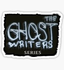 The Ghost Writers Series Official Logo Sticker