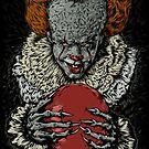 Evil Clown by jordygraph