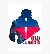 Old Habits(Beta) Photographic Print