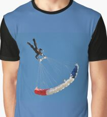 Skydiving Graphic T-Shirt