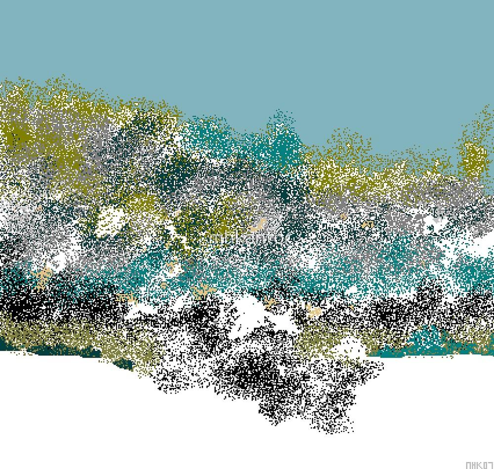 desert snow by mhkantor