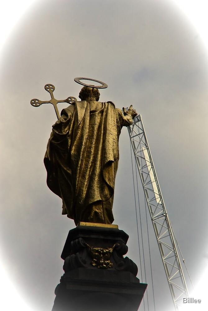 Hard work being a saint!!! by Billlee