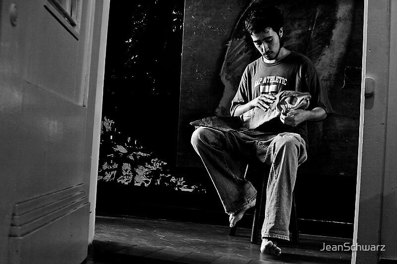 Portrait_ Chile Artist by JeanSchwarz