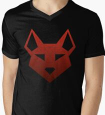 "Geometric Canine - ""Lust"" Inverted Mens V-Neck T-Shirt"