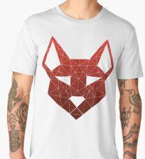 "Geometric Canine - ""Lust"" Inverted Men's Premium T-Shirt"