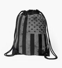 US-Flagge Grunge-Stil Rucksackbeutel