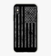 US Flag Grunge Style iPhone Case