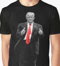 Donald Trump For President 2016 Thumbs Up Graphic T-Shirt