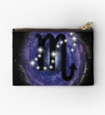 Scorpio Zodiac Sign Stars Constellation Studio Pouch