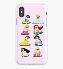 Pug Princesses Version 2 iPhone Case