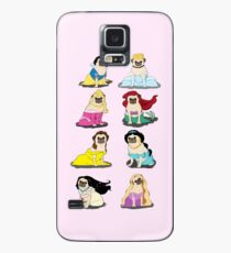 Pug Princesses Version 2 Case/Skin for Samsung Galaxy