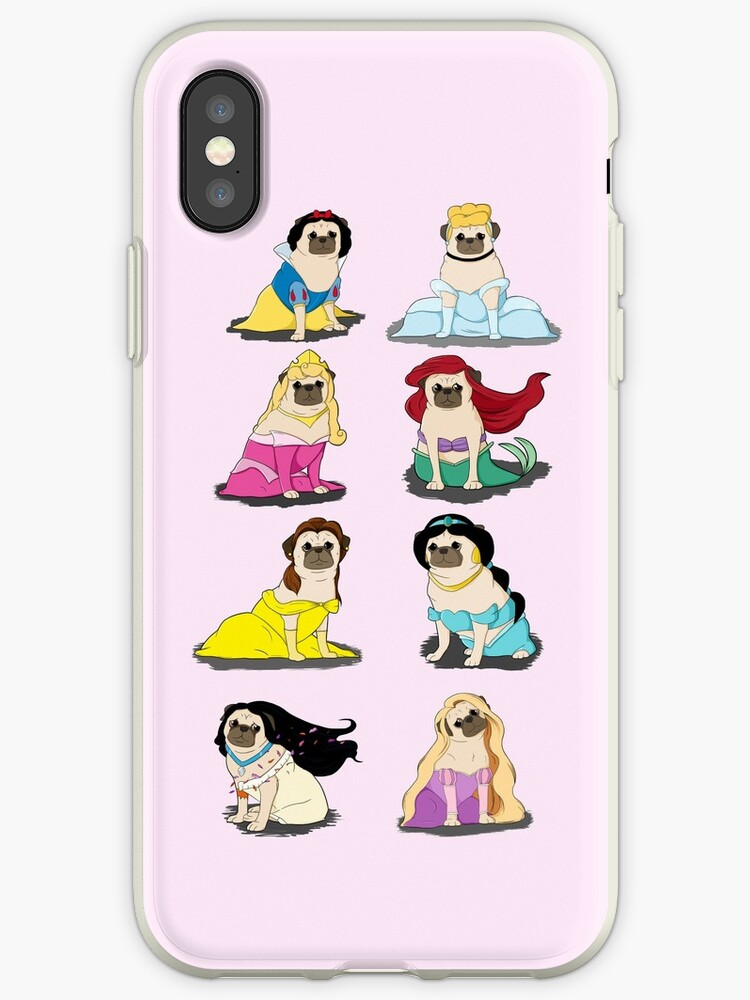 «Pug Princesses Version 2» de jennisney
