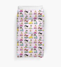 Pug Princesses Version 2 Duvet Cover