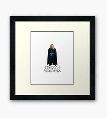 Garth Vader Framed Print