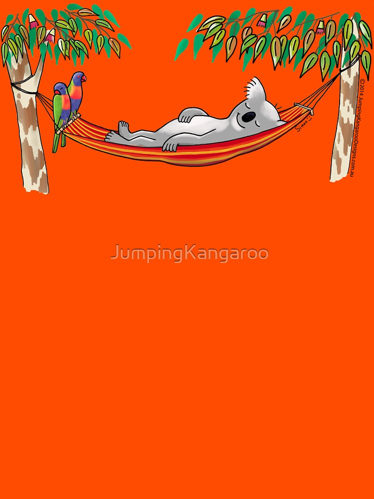 Hammock Sleeping Koala - Sweet Dreams by JumpingKangaroo