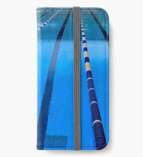 Swimming Pool - Blue & Cool iPhone Wallet/Case/Skin