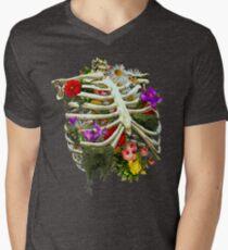 Breathing Fresh. Men's V-Neck T-Shirt