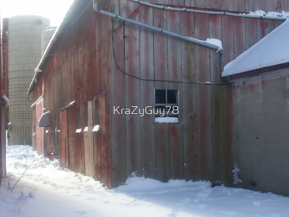 Red Barn by KraZyGuy78