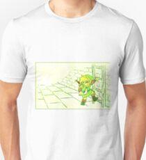 Legend of Zelda: Link's Dungeon Crawling Unisex T-Shirt