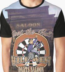 Wild West Darts Saloon Darts Shirt Graphic T-Shirt