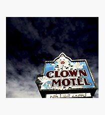 Clown Motel Photographic Print