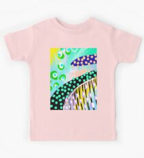 Colorful Abstract Painting Kids Clothes