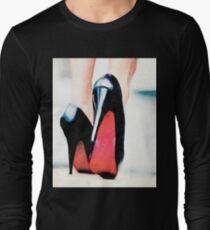 Luxury Fashion High Heels T-Shirt