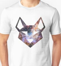 "Geometric Canine - ""Space"" Inverted Unisex T-Shirt"