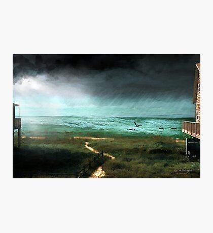 St. George Rain Storm Photographic Print