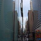 Mirror Image - Chrysler Building by John Schneider