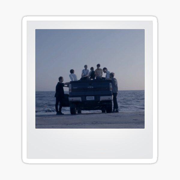 BTS Polaroid Sticker