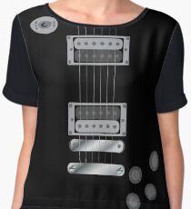 Guitar  Women's Chiffon Top