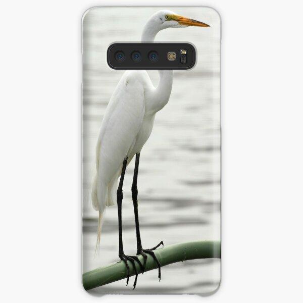 Elegant Egret Samsung Galaxy Snap Case