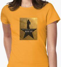 Star Wars Hamilton Mashup Womens Fitted T-Shirt