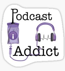 Podcast Addict Sticker