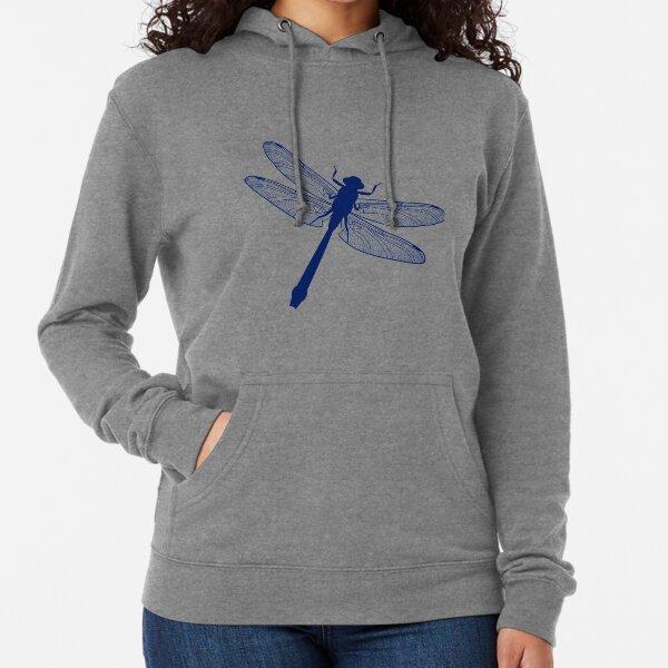 blue dragonfly Lightweight Hoodie
