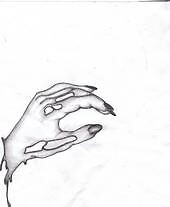 other side of a hand  by bloodbath