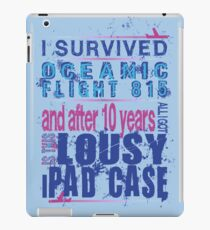 I survived Flight 815 iPad Case/Skin