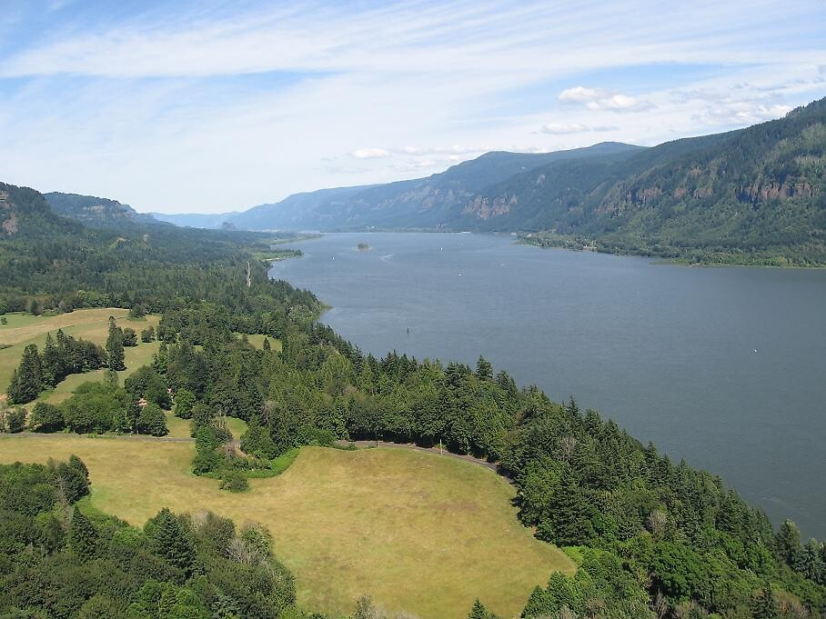 Columbia River Gorge 1 by MissTazzitude