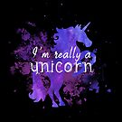 I'm really a unicorn purple by whimsystation
