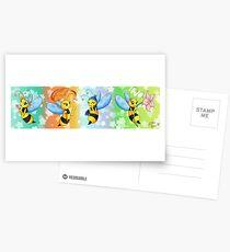 Alya and the 4 seasons Postcards