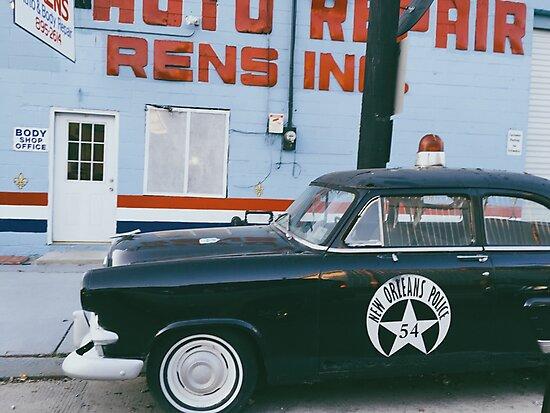 New Orleans Police Car by alyssaschi