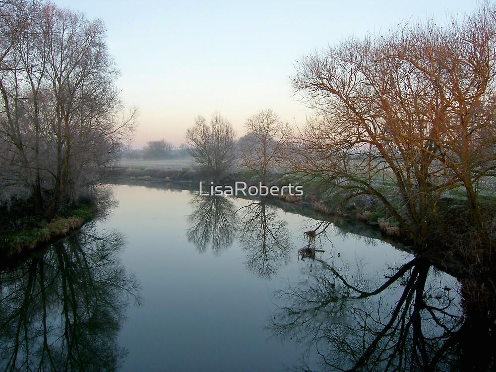 Frosty River by LisaRoberts